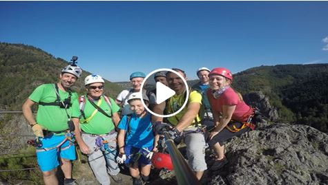 Via ferrata video