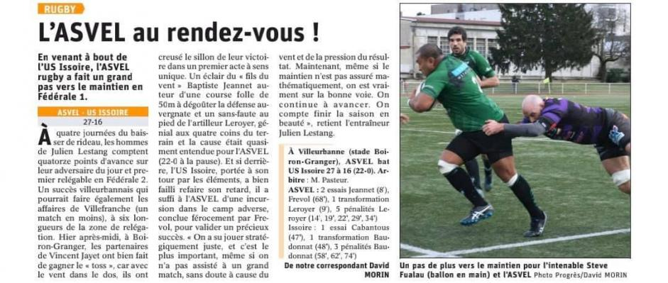 20200301 asvel rugby issoire presse